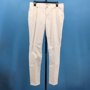 Old Navy The Flirt White Distressed Skinny Jeans